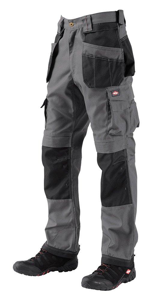 Lee Cooper Workwear 210 Cargo color Grey//Black talla 38W x 32L Pantalones para hombre