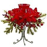 Amaryllis Candelabrum Make your holiday d¨¦cor dance with this festive Amaryllis Candelabrum