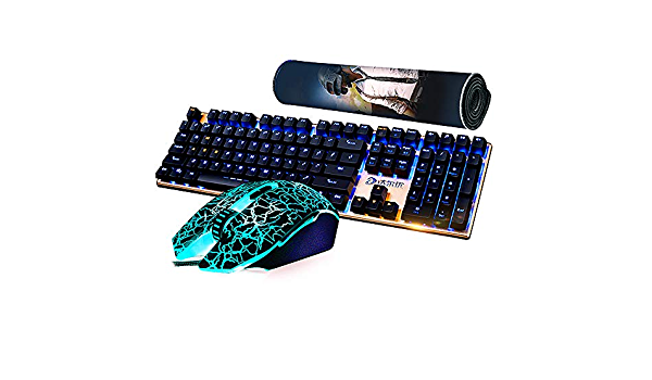 CAPTIANKN Combinación De Teclado Y Mouse para Juegos, Juego ...