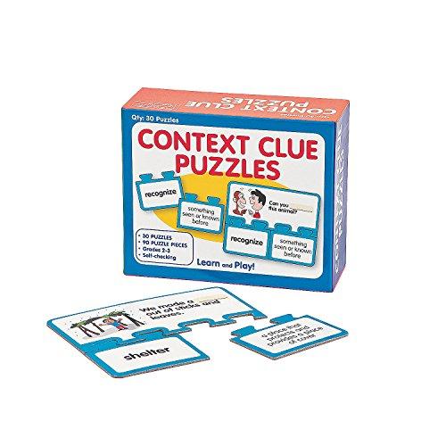 Self-Checking Context Clue Puzzles ()