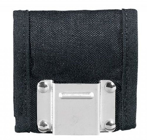 2 X Klein Tools 5707 PowerLine Nylon Tape Measure Holder, Black ()