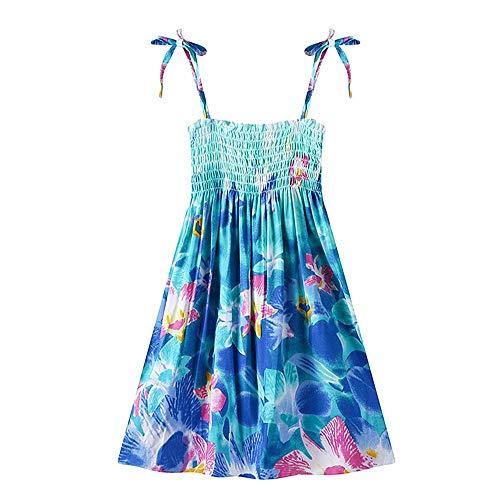 MULLSAN Little Big Girls' Long Dress or Bolero Casual Beach Dress Size 3-12 (8-11 Years, GD1)