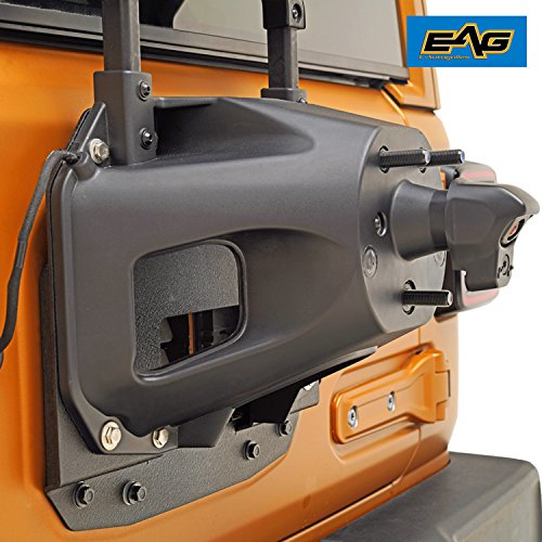 EAG Spare Tire Relocation Bracket Fits for 2018-2019 Jeep Wrangler JL