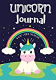 img - for Unicorn Journal: Unicorn Notebook,Unicorn Journal,Inspirational Journal & Doodle Diary,Unicorn Diary to Write and Draw In,Composition Notebook 7x10