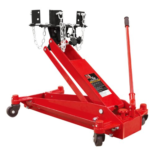 Torin TE10001 Big Red Hydraulic Transmission Floor Jack: 1 Ton (2,000 lb) ()