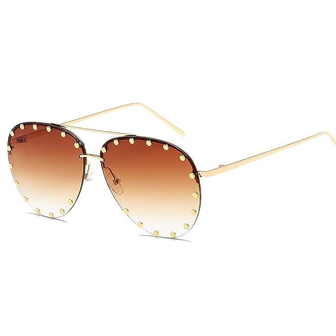 Amazon.com: BVAGSS WS027 - Gafas de sol para mujer, sin ...