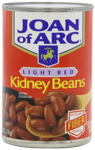 Joan of Arc Beans, Light Red Kidney Beans, 15.5 Ounce (Pack of 12)