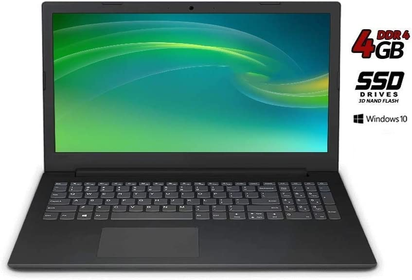 Lenovo Essential Ordenador portátil 15.6, AMD A4 2.6 GHz Burst Mode,4 GB de ram DDR4, 250 GB de SSD, BT, Wi-Fi,Graphics Radeon R3,HDMI, USB 3.0 Windows 10 Professional,Teclado Italiano QWERTY