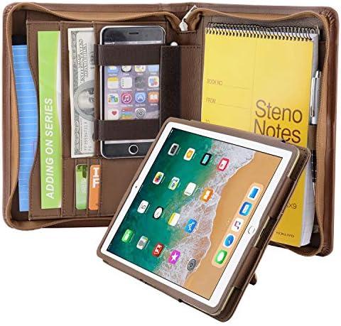 Organizer Portfolio Removable Tablet Holder