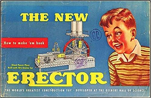 How To Make Em Book 1954 Erector Set Instructions Ac Gilbert