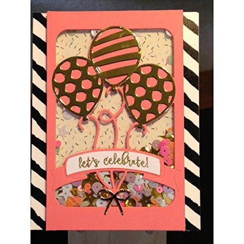 Yeahii Balloon Cutting Dies Stencil DIY Scrapbooking Embossing Album Paper Card Crafts by Yeahii (Image #7)