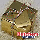 10m of Christmas Red, White & Green Christmas Candy Cane Bakers Twine - Crafts - Butchers - Gift Wrapping