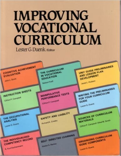 Improving Vocational Curriculum