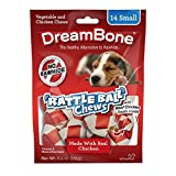 Cheap DreamBone Chicken Rattle Ball Dog Chew Rawhide Free Chews MegaPACK 6Pack (Small 14 Pieces/Pack)-Ige