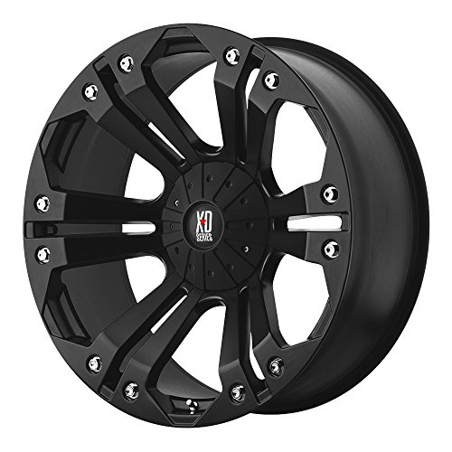 KMC Wheels XD Series  Monster Wheel with Matte Black Finish (20x9