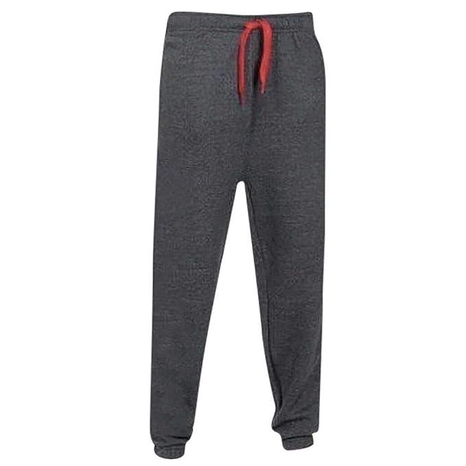 Pantalones de Deporte para Hombre, Pantalón de chándal básicos ...