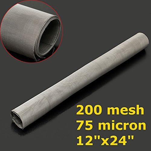 Queenwind 30x60cm のステンレス鋼304の布のろ過編まれるワイヤースクリーン200の網
