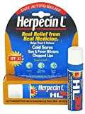 Herpecin L Lip Balm Stick 30 SPF 0.1 Ounce Tube Cold Sore Sun & Fever Blisters and Chapped Lips Relief Lip Balm with SPF30 and Lysine