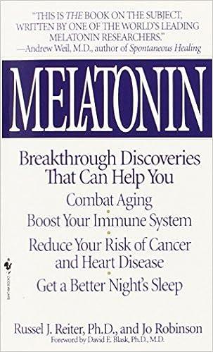 Melatonin by Russel J. Reiter (1996-07-01): Amazon.es: Russel J ...