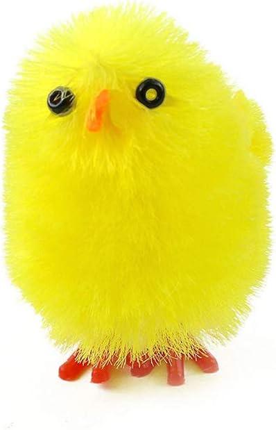 pulcini festa di famiglia Decorazione per pulcini pasquali festa di Pasqua 36 pulcini pasquali gialli LouisaYork cappellino per uova di Pasqua
