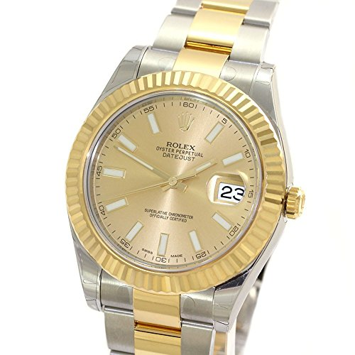Rolex Datejust II automatic-self-wind mens Watch 116333CI (Certified Pre-owned)