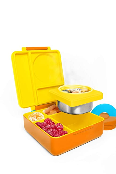 19659c69d37 Amazon.com  OmieBox Bento Lunch Box for Hot   Cold Food
