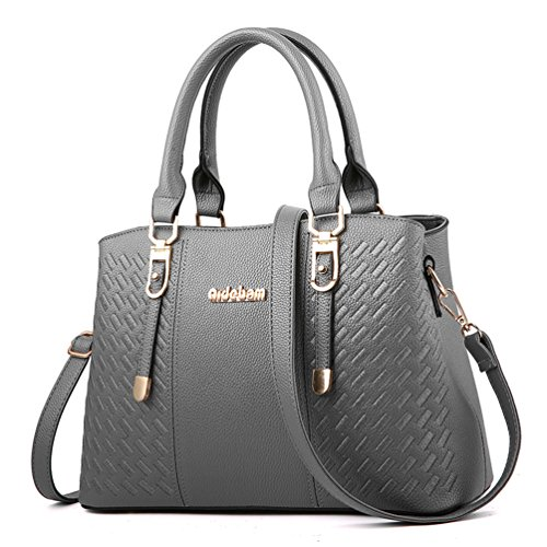 Womens Purses and Handbags Shoulder Bag Large Tote Bag Top Handle Satchel by ACLULION