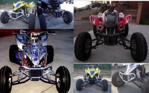 2004-2014 Front Bumper 1999-2014 Silver and TRX 400EX 400X ATV TRX 450R Compatible with Honda