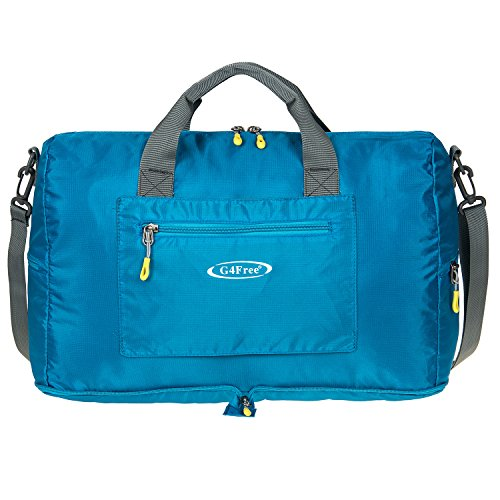 """G4Free 16"""" Foldable Small Duffle Bag Lightweight Tote Bag fo"""