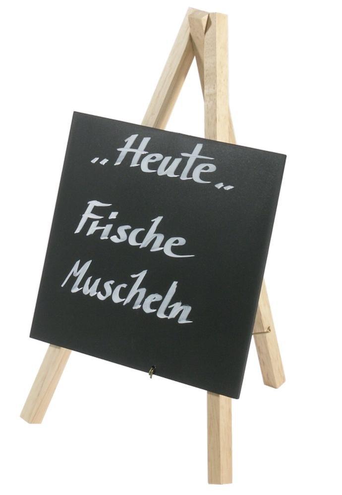 Contacto Tischstaffelei, naturfarben