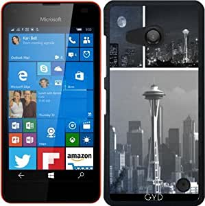 Funda para Microsoft Lumia 550 - Gris Aguja Del Espacio Ii by Christine aka stine1