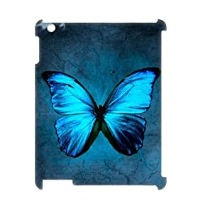 ALICASE Diy Cover Custom Case Butterfly For IPad 2,3,4 [Pattern-2]