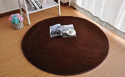 Tappeto Morbido Salotto : Getek rotondo pollici morbida liscio tappeto salotto