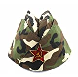 Russian Army Cap Tricorne Green Camo Bonnet Star Logo Women Sailor Military Stage Performance Dance Hats Chinese Boat Caps 16