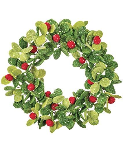 Sullivans Felt Mistletoe Candle Wreath ()