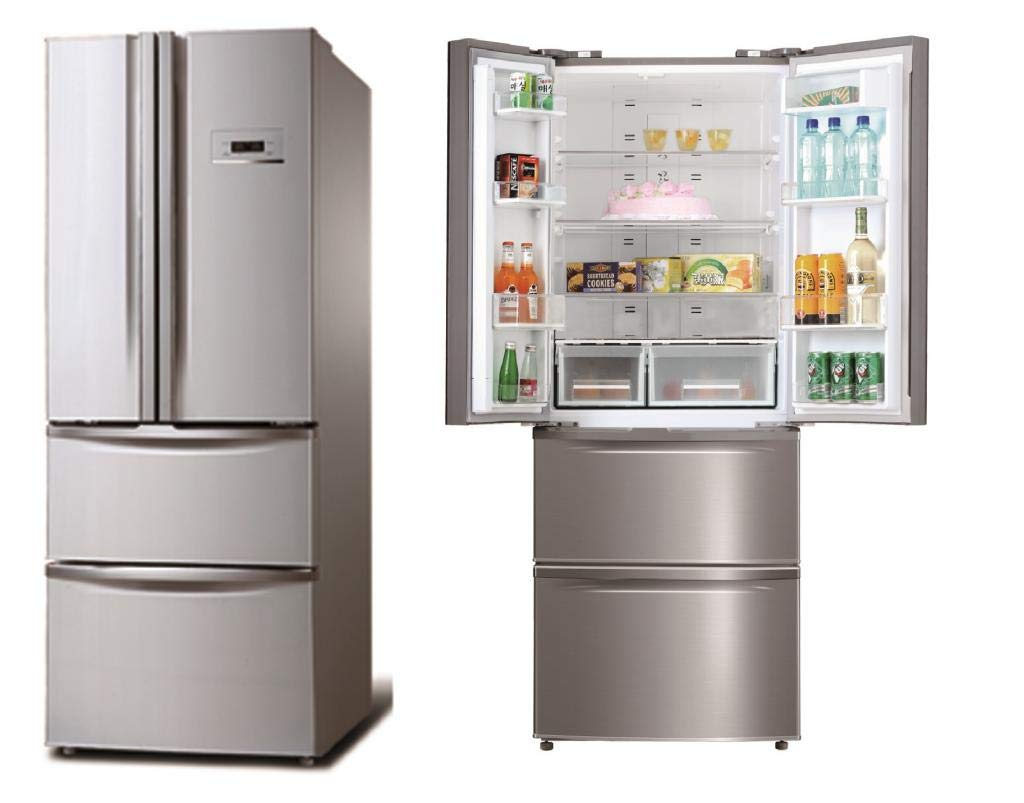 SIDE BY SIDE CORBERO CFFDML360NF NF 180X68 INOX: Amazon.es ...