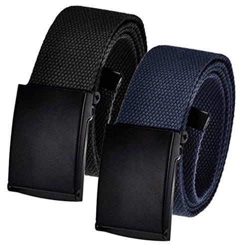 Men's Cut to Fit Adjustable Belt Waist Size Up to 36