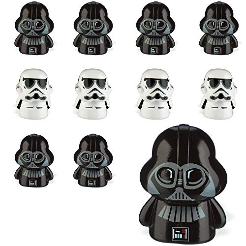 Party City Star Wars Finger Puppets 24 Count, Birthday Party Favors for Kids, 12 Each of 2 Designs, -