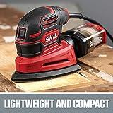 SKIL Corded Detail Sander, Includes 3pcs Sanding