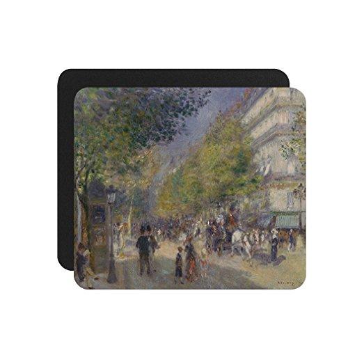 Grande Boulevards (Renoir) Computer Laptop Mouse - Grand Boulevard