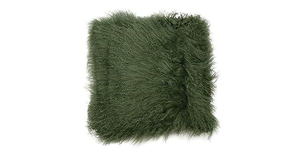 Amazon.com: Premier Housewares – Cojín (lana de mongolia ...