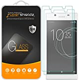 (2 Pack) Supershieldz for Sony Xperia L1 Tempered Glass Screen Protector, Anti Scratch, Bubble Free