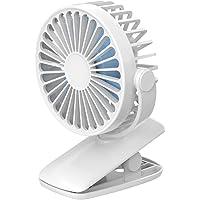 Houshome Ventilador portátil de mesa X011 Ventilador com clipe Ventilador de resfriamento de mesa USB Power Ventilador…