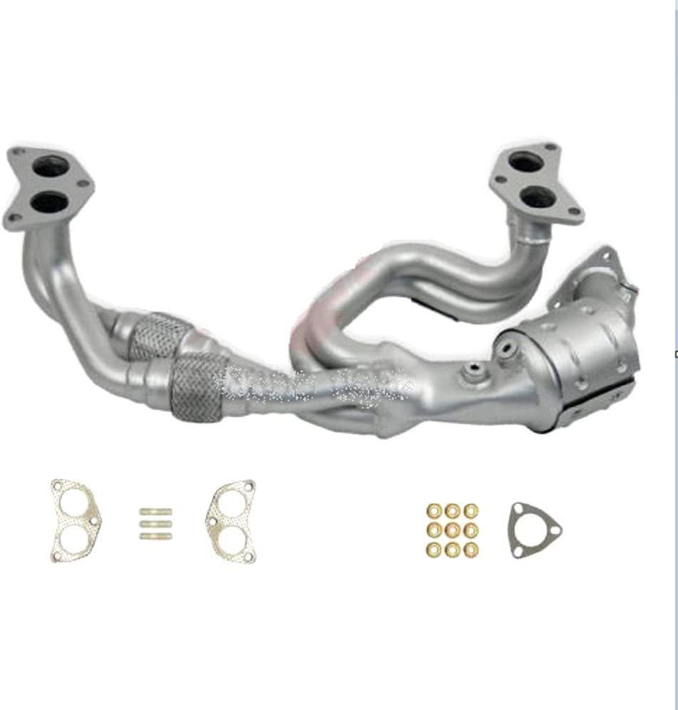 Front Catalytic Converter fits Forester Impreza Outback Legacy Subaru 2.5L