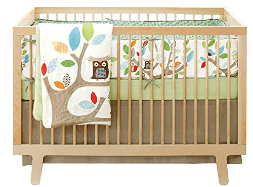 Skip Hop 4 Piece Crib Bedding Set, Treetop Friends 278800-CO