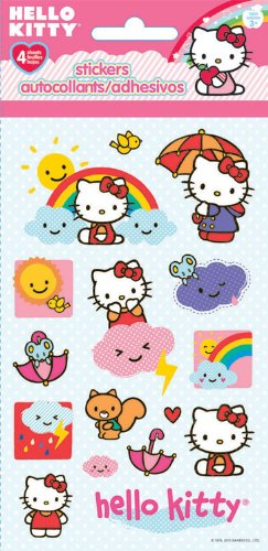 Hello Kitty Standard Stickers (Hello Kitty Birthday Stickers)