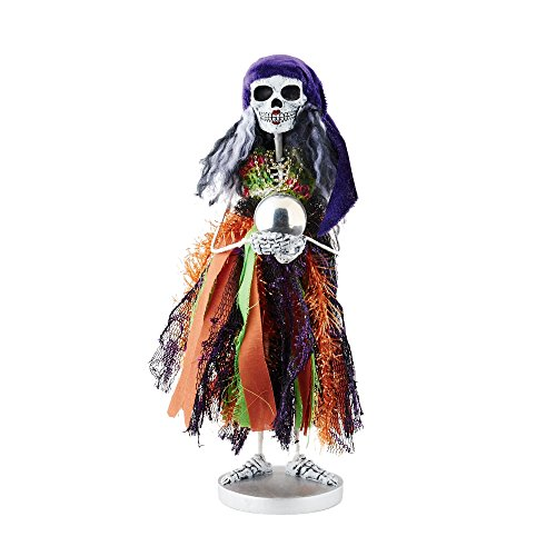 Department 56 Halloween Skeletons Fortune Teller Skeleton Figurine, 12