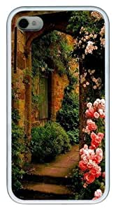 Decay TPU Case Cover for iPhone 4 and iPhone 4S White New Year gift