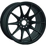 XXR 527 18 Flat Black Wheel / Rim 5x100 & 5x4.5 with a 35mm Offset and a 73.1 Hub Bore. Partnumber 52788102