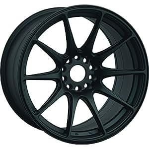 XXR 527 18 Flat Black Wheel / Rim 5x100 & 5x4.5 with a 20mm Offset and a 73.1 Hub Bore. Partnumber 52789542